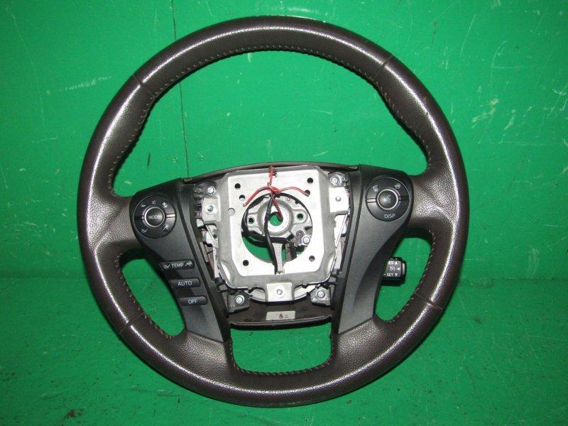 Руль Toyota Sai AZK10 2AZ-FXE