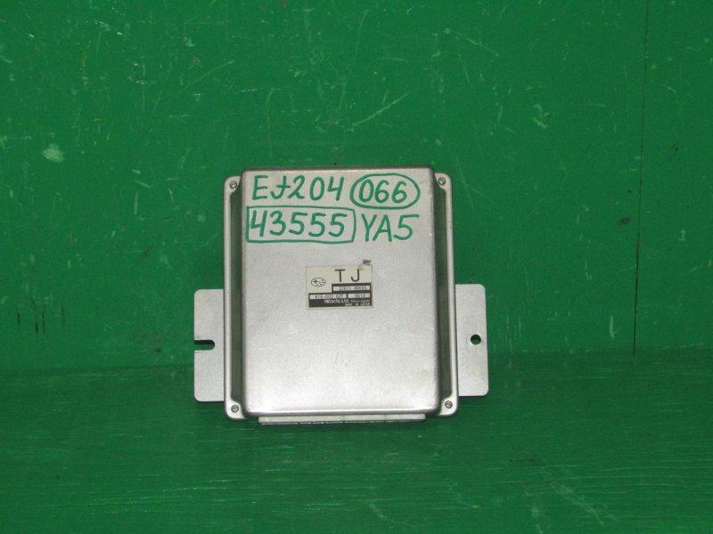 Блок управления efi Subaru Exiga YA4 EJ204 22611-AR600