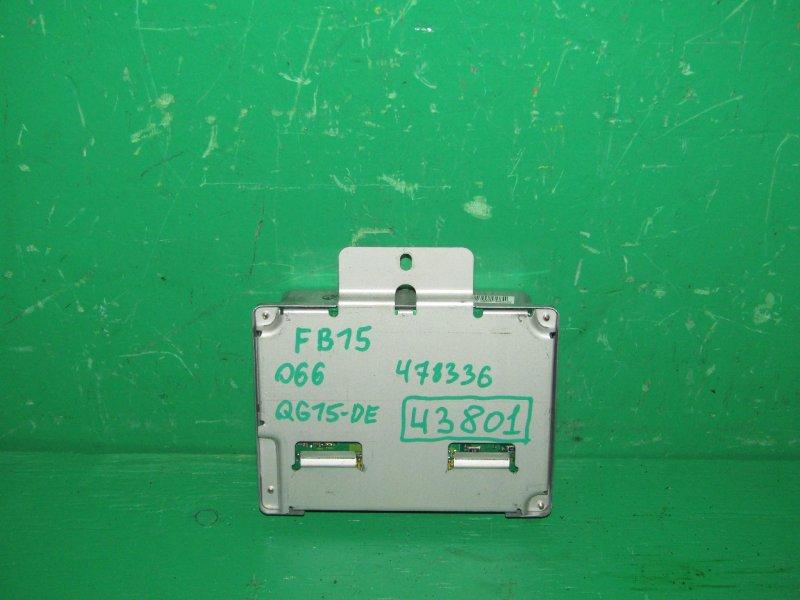 Блок управления efi Nissan Sunny FB15 QG15DE A56-R74 AB2