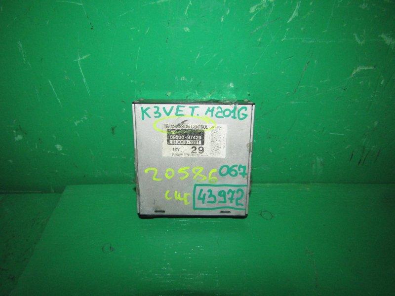 Блок управления автоматом Daihatsu Yrv M201G K3-VET 89530-97429