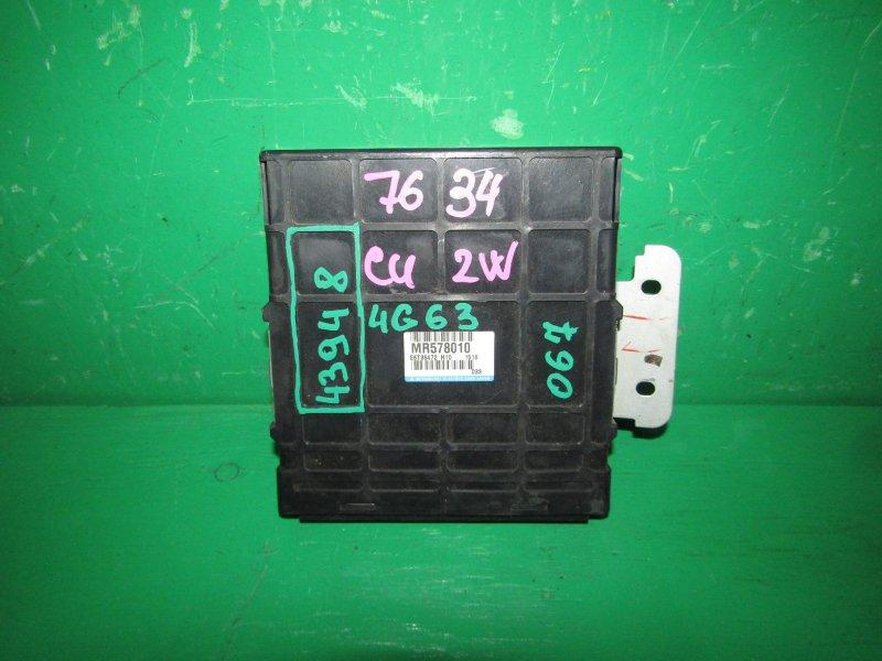 Блок управления efi Mitsubishi Airtrek CU2W 4G63