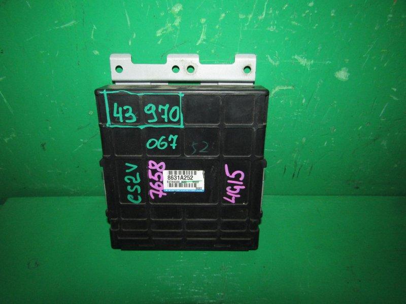 Блок управления efi Mitsubishi Lancer Cedia CS2V 4G15 8631A252