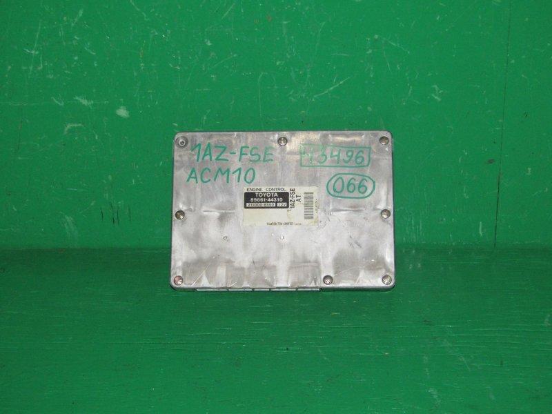 Блок управления efi Toyota Gaia ACM10 1AZ-FSE 89661-44310