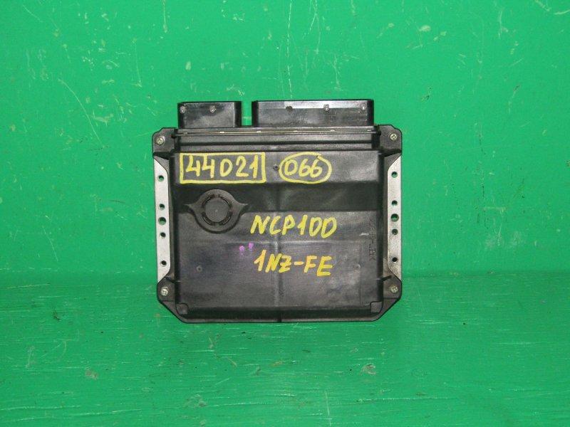Блок управления efi Toyota Ractis NCP100 1NZ-FE