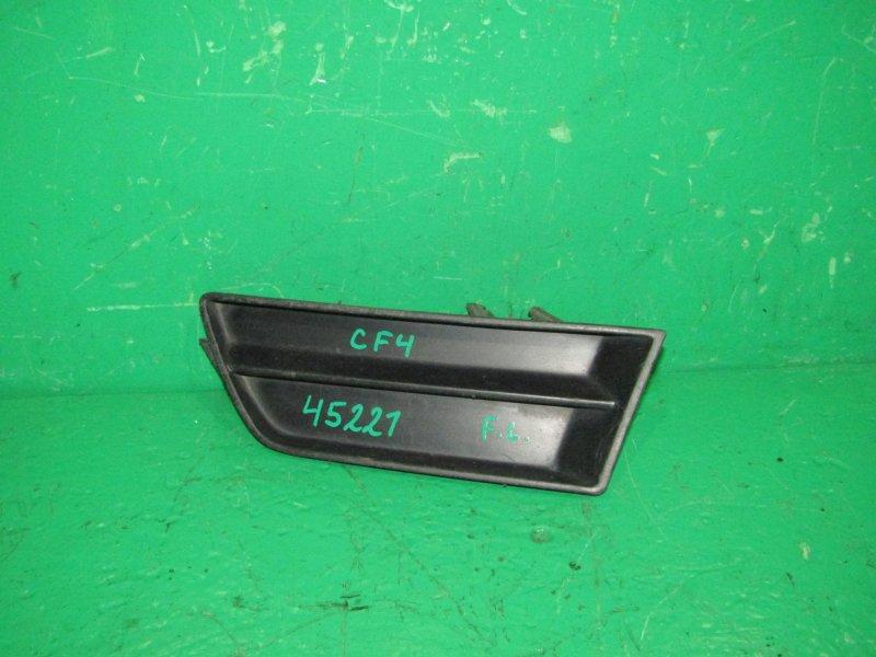 Заглушка бампера Honda Accord CF4 левая