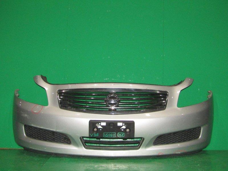 Бампер Nissan Skyline V36 передний