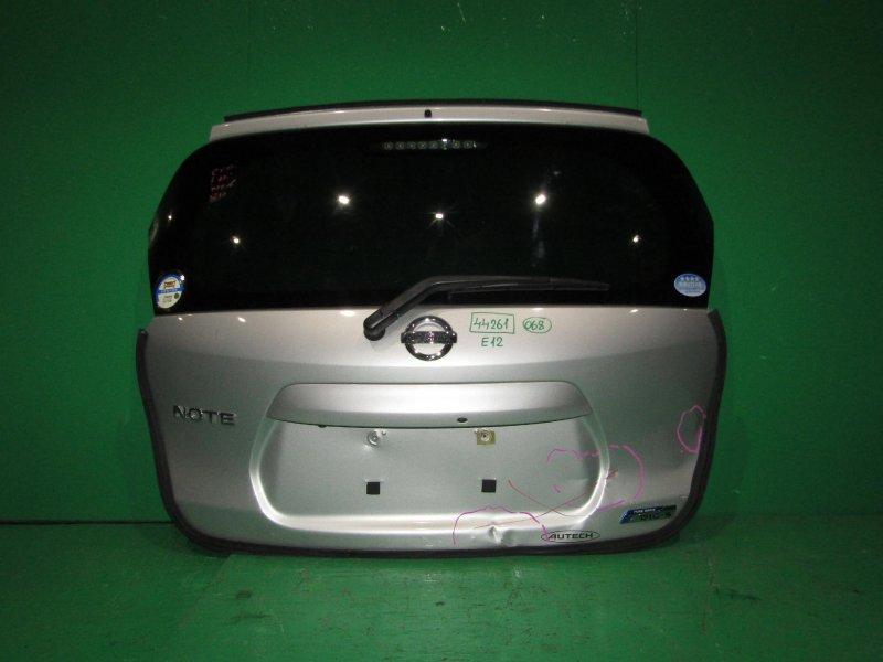 Дверь задняя Nissan Note E12
