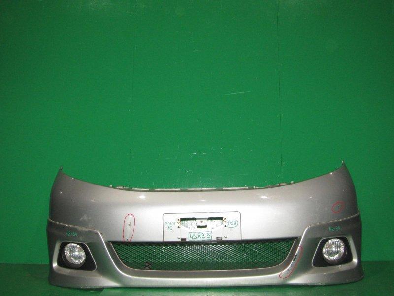 Бампер Toyota Isis ZNM10 09.2004 передний 42-34