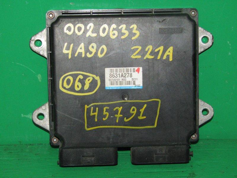 Блок управления efi Mitsubishi Colt Z21A 4A90 8631A278