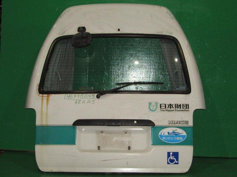 Дверь задняя Toyota Hiace RZH125