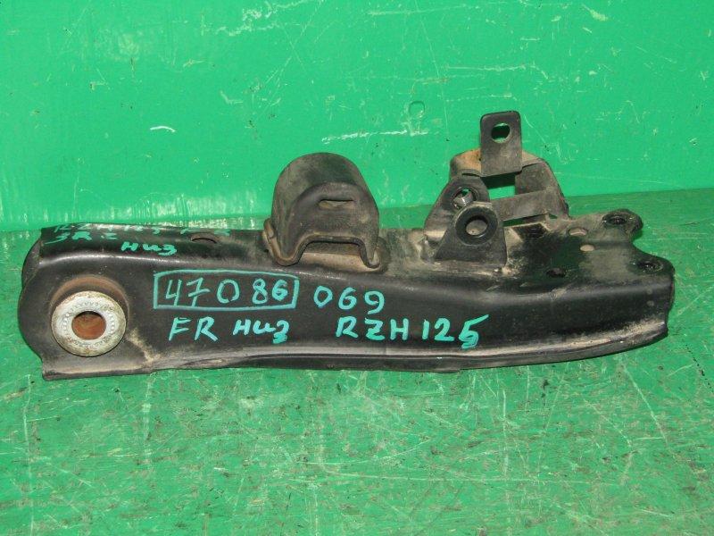 Рычаг Toyota Hiace RZH125 передний правый нижний