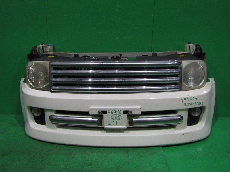 Nose cut Nissan Cube BZ11 CR14DE 10.2002