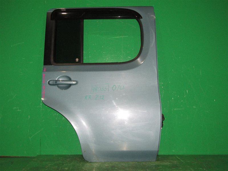 Дверь Nissan Cube Z12 задняя правая