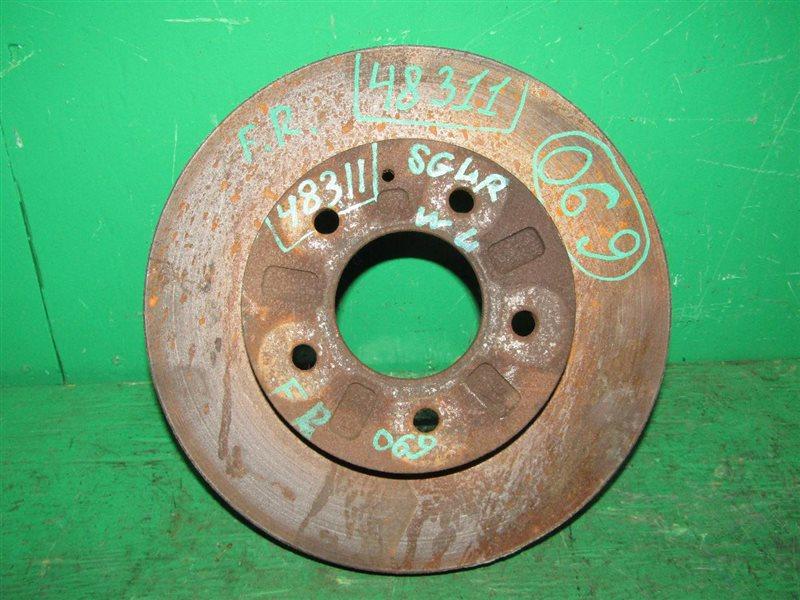 Тормозной диск Mazda Bongo Friendee SGLR передний