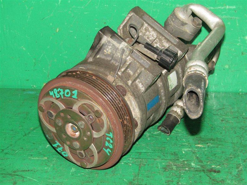 Компрессор кондиционера Nissan Serena TC24 QR20DE 92600-CX000