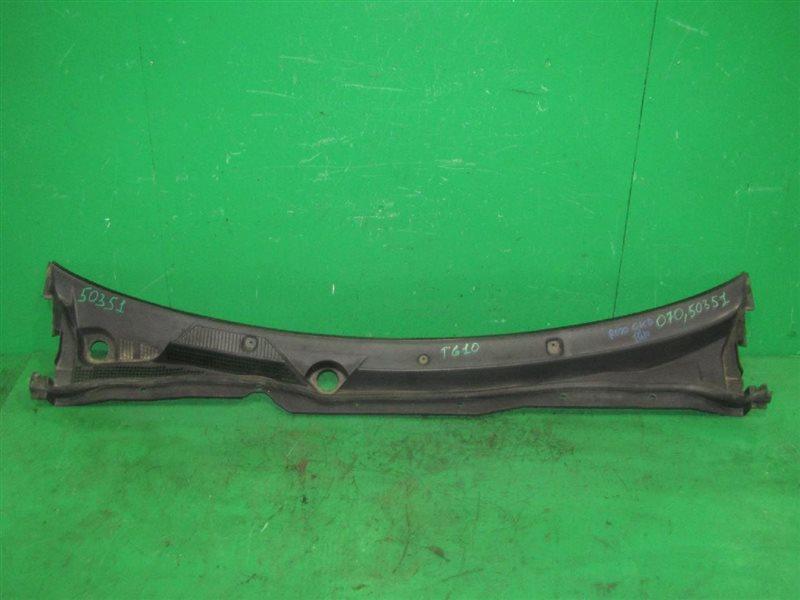 Решетка под лобовое стекло Nissan Bluebird Sylphy TG10