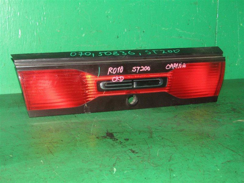 Вставка багажника Toyota Carina Ed ST200 08.1995 задняя