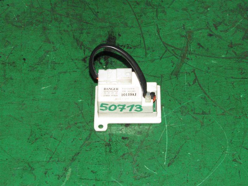 Электронный блок Nissan Cube Z12 HR15DE 27450-1FB2A