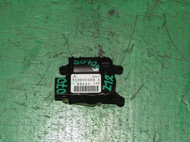 Сервопривод заслонок печки Nissan Cube Z12 HR15DE T1008566R
