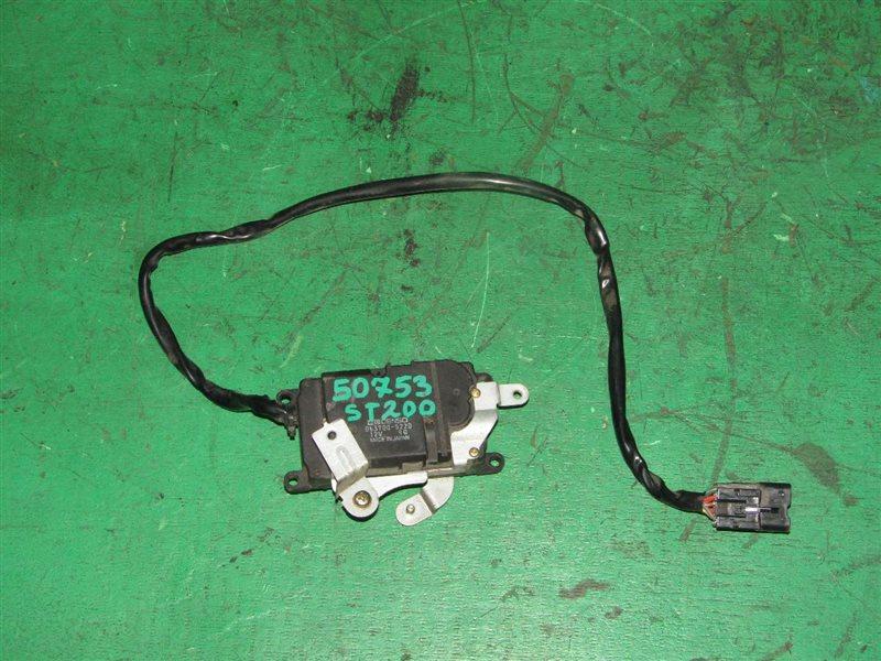 Сервопривод заслонок печки Toyota Carina Ed ST200 4S-FE 063700-5220