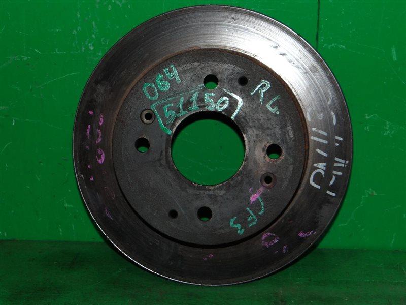 Тормозной диск Honda Accord CF3 задний