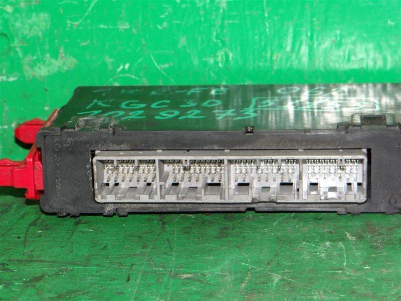 Блок управления efi Toyota Passo KGC30 1KR-FE