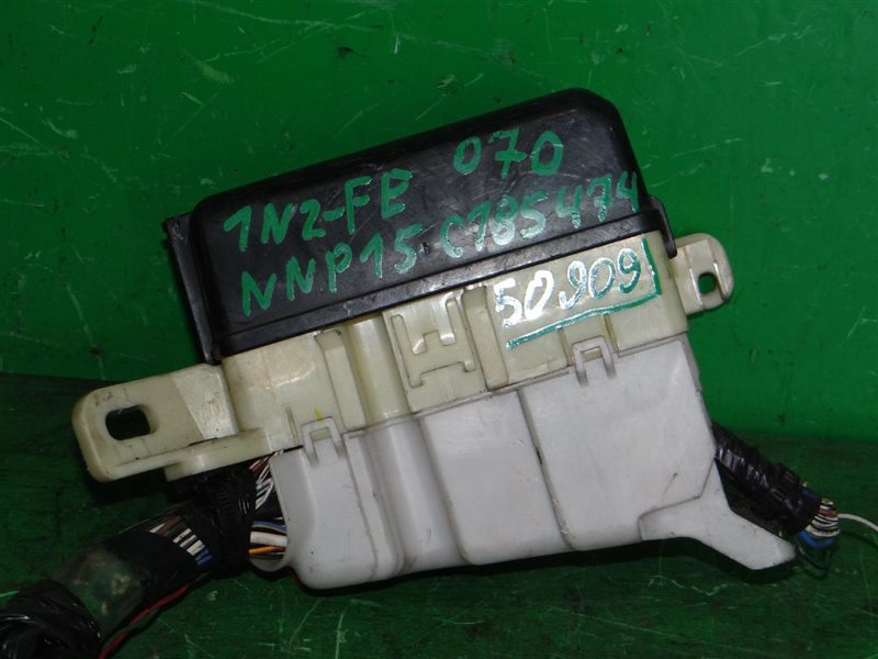 Блок предохранителей Toyota Porte NNP15 1NZ-FE