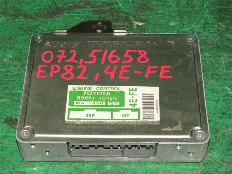 Блок управления efi Toyota Starlet EP82 4E-FE