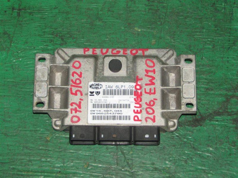 Блок управления efi Peugeot 206 EW10 9650623180