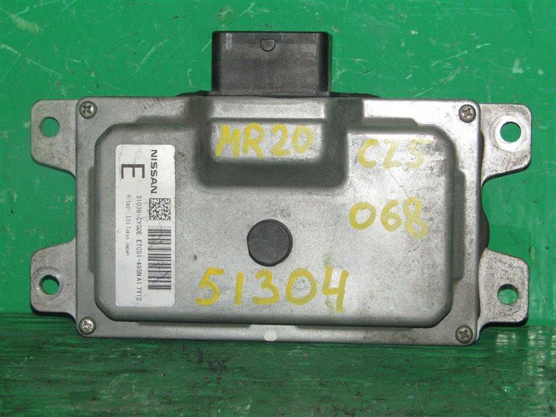 Блок управления автоматом Nissan Serena C25 MR20DE 31036-CY00E