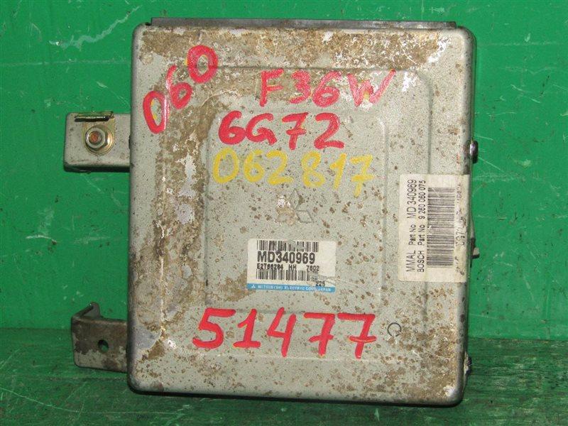 Блок управления efi Mitsubishi Diamante F36W 6G72 MD340969