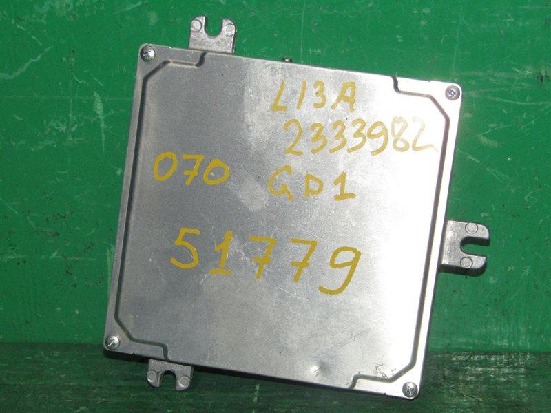 Блок управления efi Honda Fit GD1 L13A 37820-PWA-935