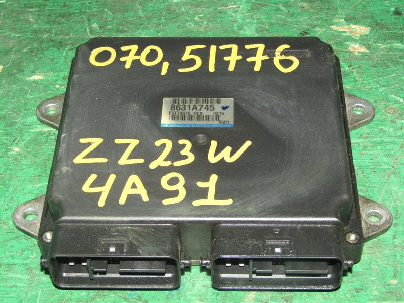 Блок управления efi Mitsubishi Colt Z23W 4A91 8631A745