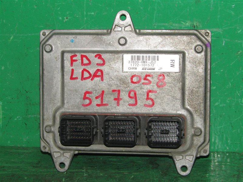 Блок управления efi Honda Civic FD3 LDA