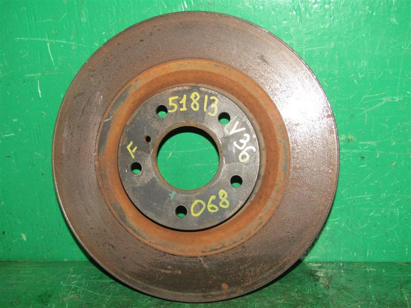 Тормозной диск Nissan Skyline V36 передний