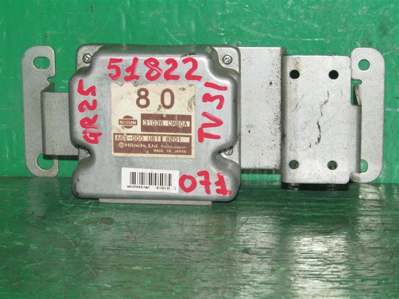 Блок управления автоматом Nissan Presage TU31 QR25DE 31036-CM60A