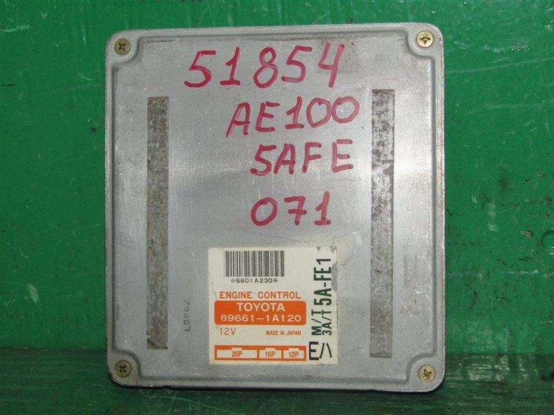 Блок управления efi Toyota Sprinter AE100 5A-FE 89661-1A120