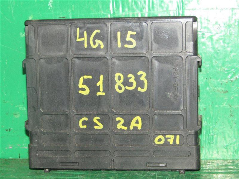 Блок управления efi Mitsubishi Lancer CS2A 4G15 MR578488