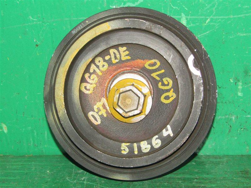 Шкив Nissan Bluebird Sylphy QG10 QG18DE