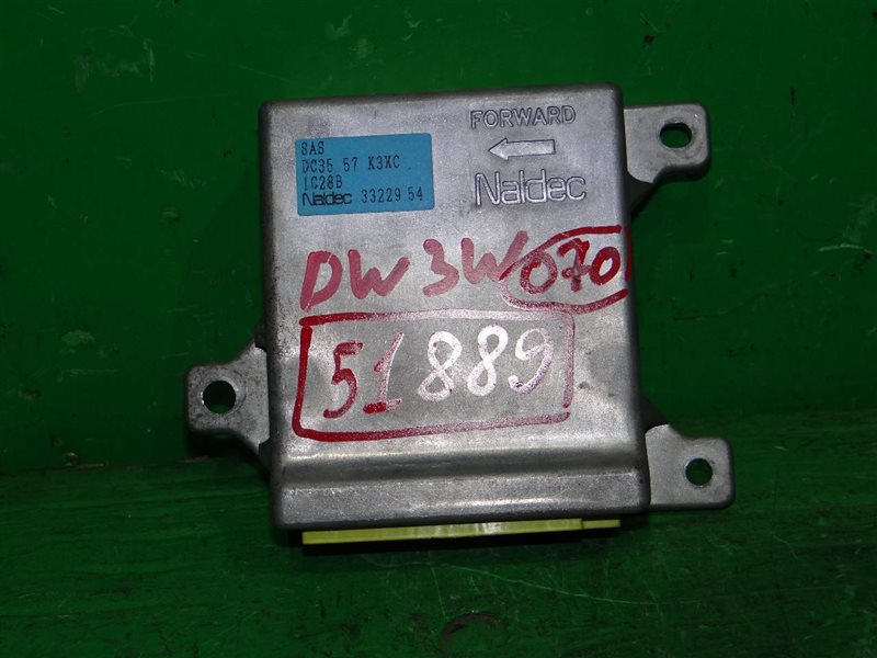 Блок управления airbag Mazda Demio DW3W B3 DC3557K3XC