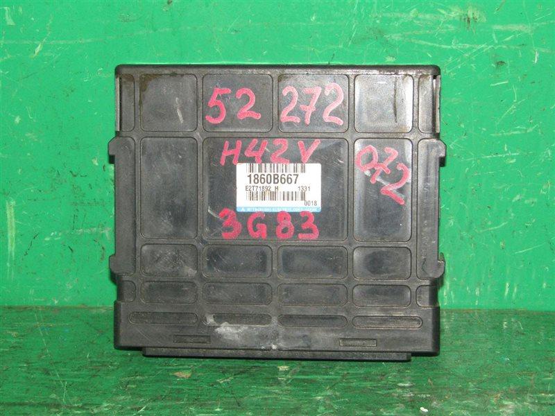 Блок управления efi Mitsubishi Minica H42V 3G83 1860B667
