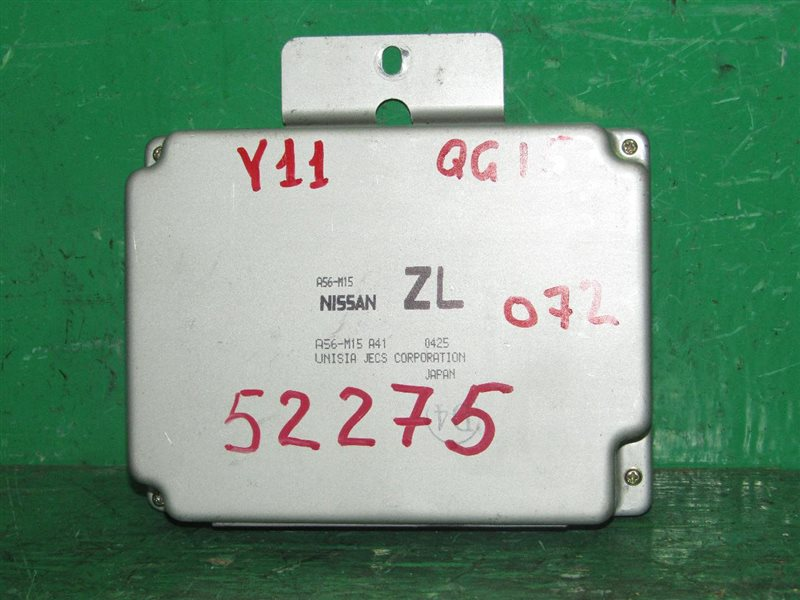 Блок управления efi Nissan Wingroad WFY11 QG15DE A56-M15 A41