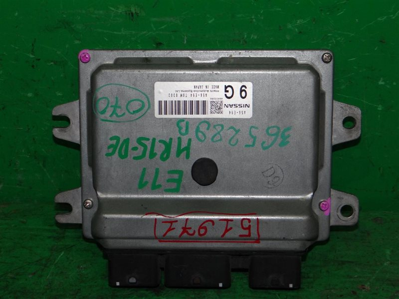 Блок управления efi Nissan Note E11 HR15DE A56-E94 T0W