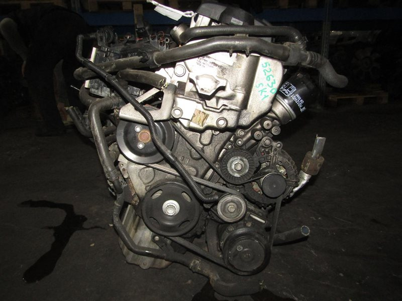 Двигатель Volkswagen Golf 5K1 CAX 513699