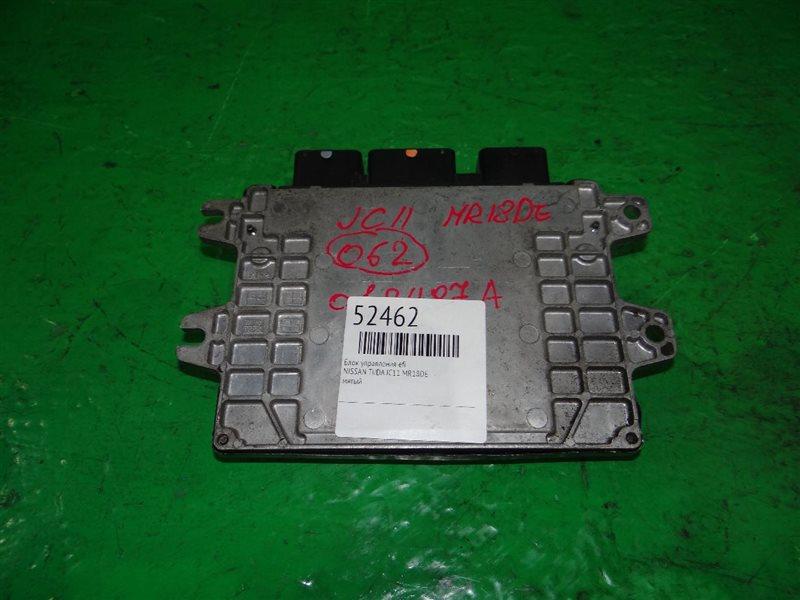 Блок управления efi Nissan Tiida JC11 MR18DE A56-X78 B30
