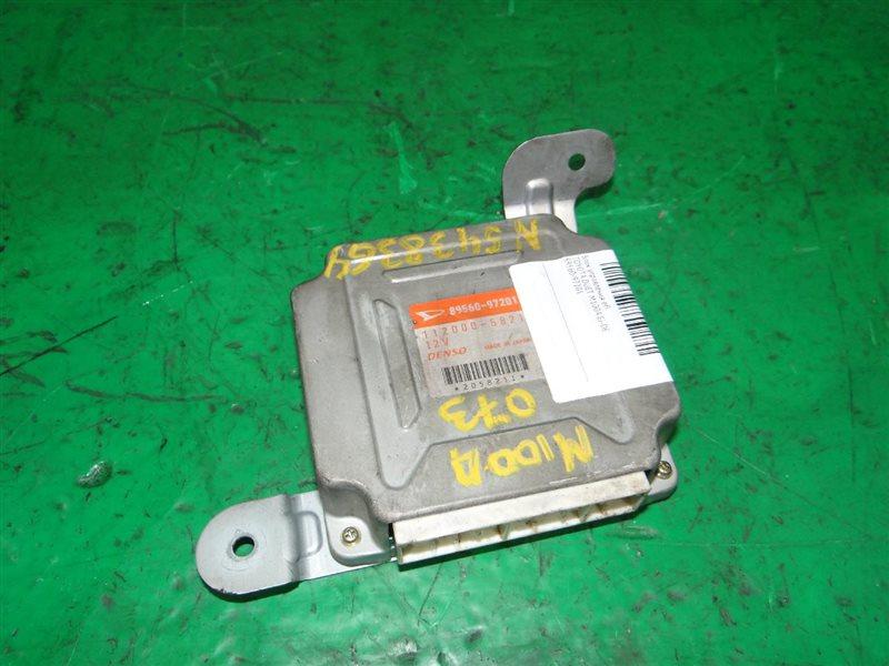 Блок управления efi Toyota Duet M100A EJ-DE 89560-97201
