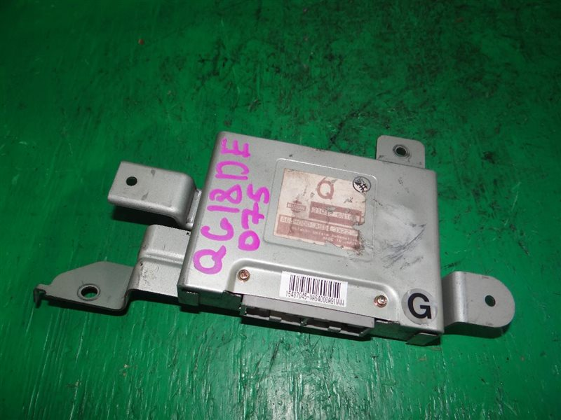 Блок управления автоматом Nissan Bluebird Sylphy QG10 QG18DE 92600-8N200