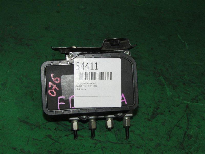Блок управления abs Honda Civic FD3 LDA 6F08-3226