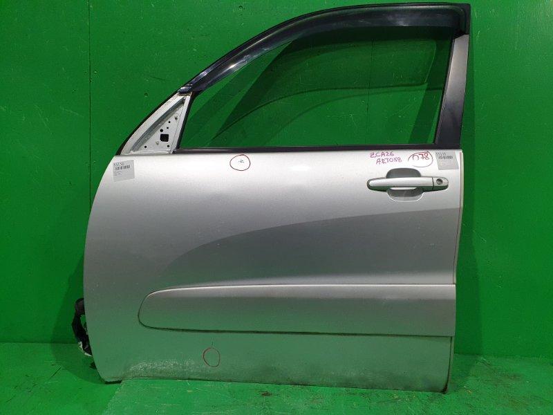 Дверь Toyota Rav4 ZCA26 передняя левая