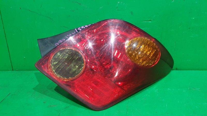 Стоп-сигнал Toyota Ist NCP61 05.2002 задний правый 52-056